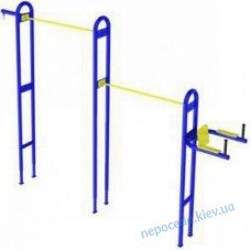 Універсальний вуличний тренажер для спортмайданчика