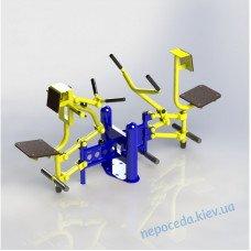 Тренажер Біцепс машина / Тяга важеля