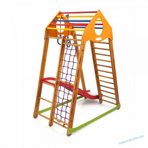 Детский спортивный комплекс 170cм BambinoWood Plus 1