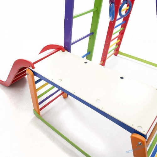 Детский спортивный комплекс 170см BambinoWood Color Plus 1-1