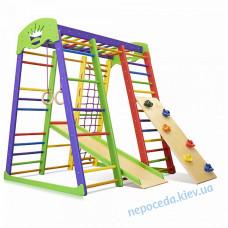 Детский спортивный комплекс «Акварелька мини 1» для дома