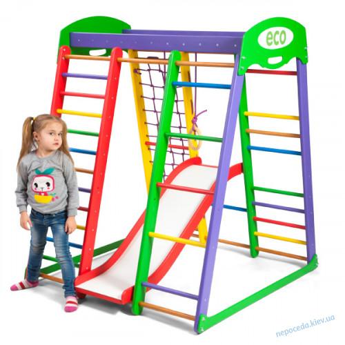 Детский спортивный комплекс для дома «Акварелька plas 1»
