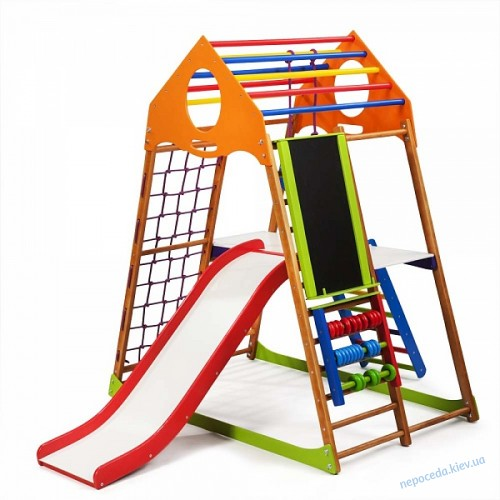 Детский спортивный комплекс для дома KindWood Plus 3