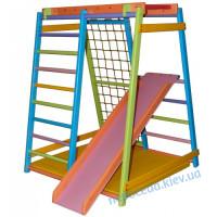 Детский спортивный комплекс МАЛЫШ Веселый Дракоша для дома