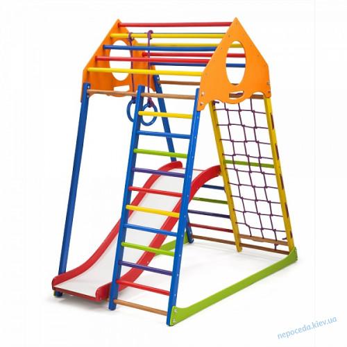 Детский спортивный комплекс KindWood Color Plus 1