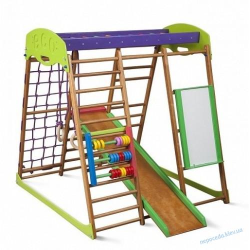Детский спортивный комплекс для квартиры «Карамелька виолет»