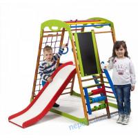 Детский спортивный комплекс + горка BabyWood Plus 3