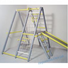 Игровой складной спортивный уголок Кроша серо-желтый