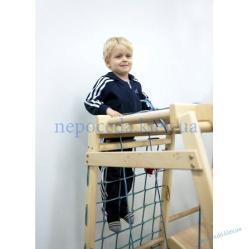 Детский спортивный комплекс c качелями Малыш