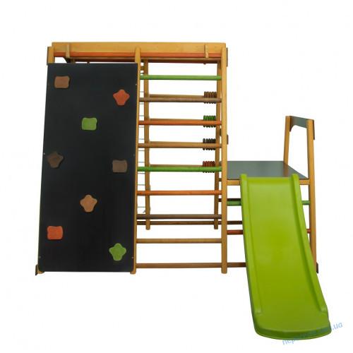 Детский спортивный комплекс для улицы с горкой Малыш-3