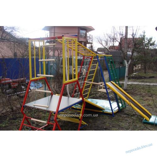 """Детский спортивный уголок """"Лабиринт-strong"""" дом - улица"""