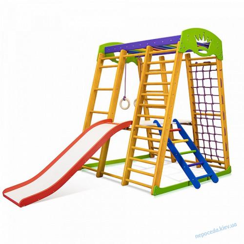 Дитячийпосилений спортивно ігровий комплекс для дома «Карапуз Plus 2»
