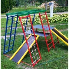 Детский игровой комплекс с 2 горками Забава-чемпион