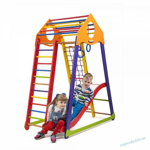 Детский спортивный комплекс BambinoWood Color Plus 1