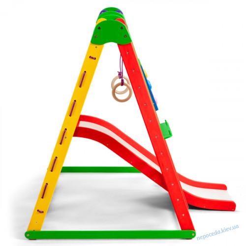 Детский спортивный уголок «Эверест-4» раскладной с горкой