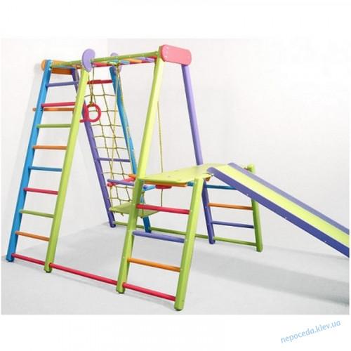 Спортивный уголок Слоник (цветной) игровой раскладной для дома