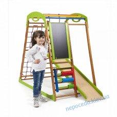Дитячий спортивний комплекс у квартиру Бебі Wood Plus