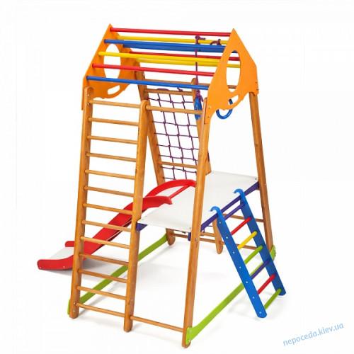 Спортивный уголок для детей BambinoWood Plus 2