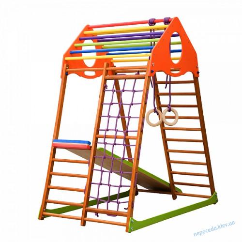 Детский спортивный комплекс для дома КиндВуд 150см