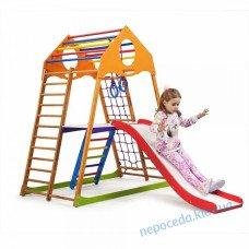 Дитячий спортивний комплекс для дому KindWood Plus 2