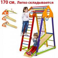 Дитячий спортивний комплекс BambinoWood Color