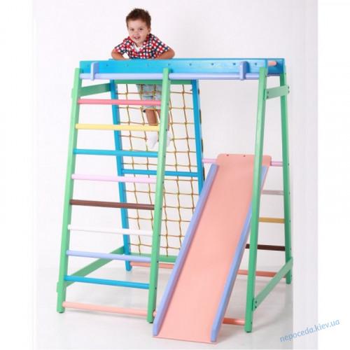 Детский спортивный уголок `Малыш плюс`