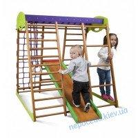 Детский спорткомплекс для дома «Карапуз» 150см с горкой для самых маленьких