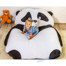 Дитяча м'яке ліжко Пандочка (безкаркасні меблі) S