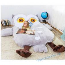 Дитяче ліжко матрац м'яка іграшка Сова (S)
