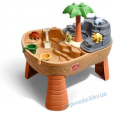 Стіл для гри з водою і піском Dino Dig