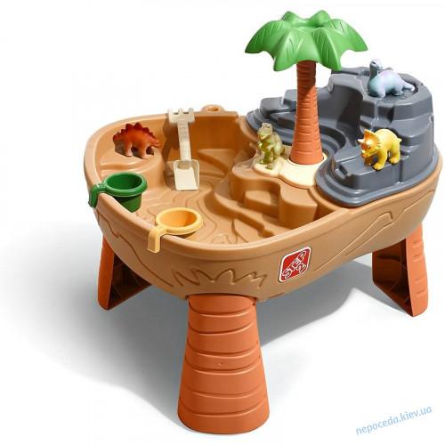 Стол для игры с водой и песком Dino Dig