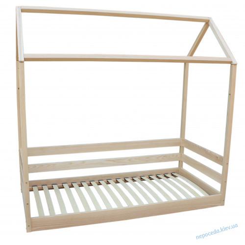 Кровать детская Домик из ясеня (длина 190см)