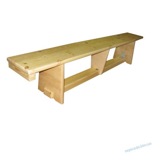 Скамья гимнастическая (лавка) для спортивного зала