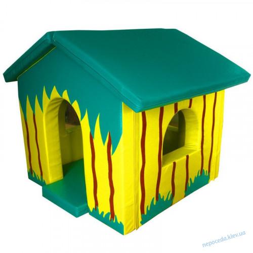 Детский мягкий домик Джунгли большой