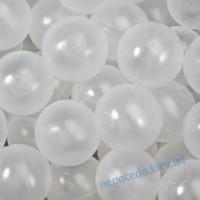 Шарики прозрачные для сухого бассейна с подсветкой