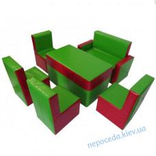 Комплект Гостинка люкс з прямокутним столом