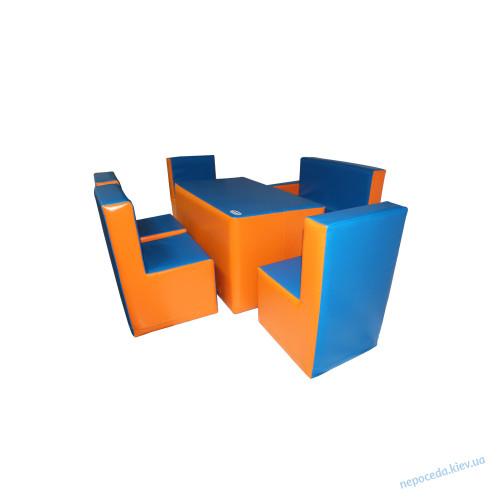 Комплект Гостинка люкс с прямоугольным столом