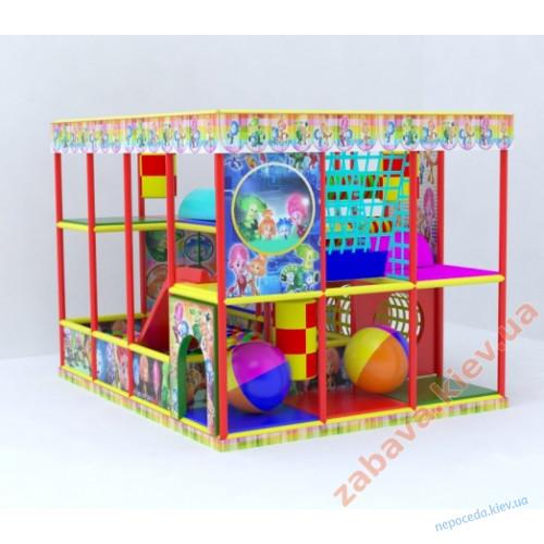 Детский игровой лабиринт  Фиксики