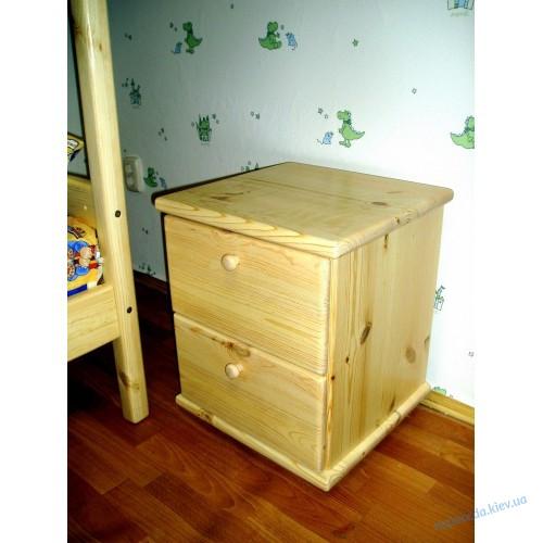 Тумба прикроватная деревянная