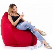 Кресло мешок Груша красное S