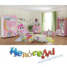 """Детская мебель в комнату для девочек """"Пони"""""""