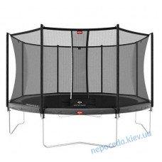 Батут BERG Favorit Grey 430 + защитная сетка Safety Net Comfort