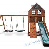 Дитячий майданчик для приватного будинку Затишок