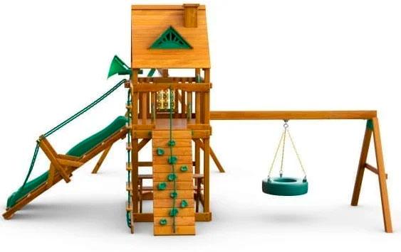 Фото бокового вида детской площадки