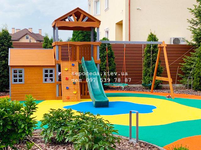 Непоседа детская площадка для частного дома под заказ в короткие сроки (Украина)