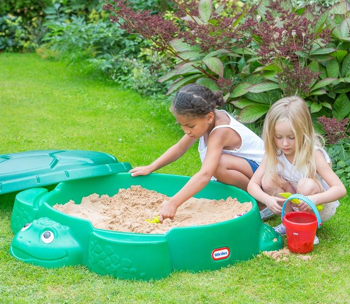 песочница пластиковая детская