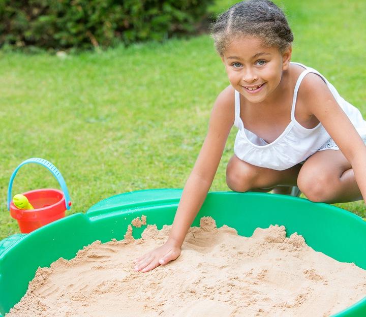 пластиковая песочница