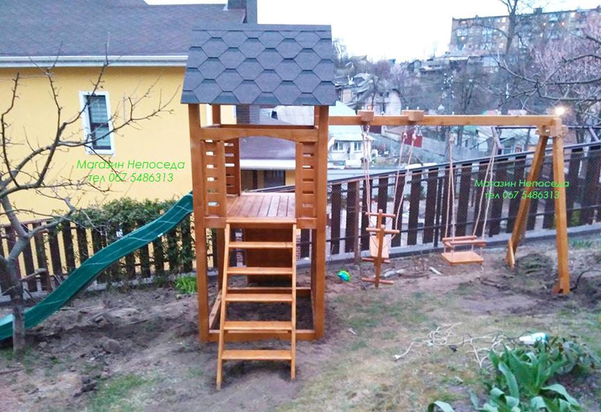 Детские игровые комплексы для улицы Горец