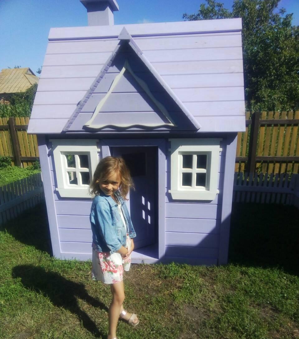 купить домик из дерева для девочки