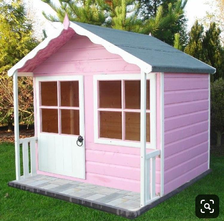 заказать деревянный домик для девочки